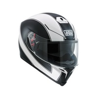 K-5 AGV E2205 MULTI PLK - ENLACE WHITE MATT-BLACK