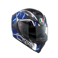 K-5 AGV E2205 MULTI PLK - HURRICANE BLACK-BLUE-WHITE